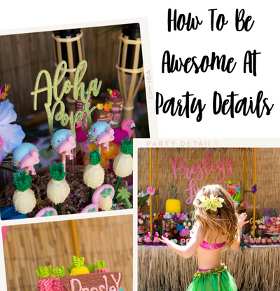 Episode 105: How To Be Awesome At Party Details