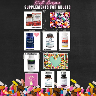 The Most Awesome Supplements for Adults