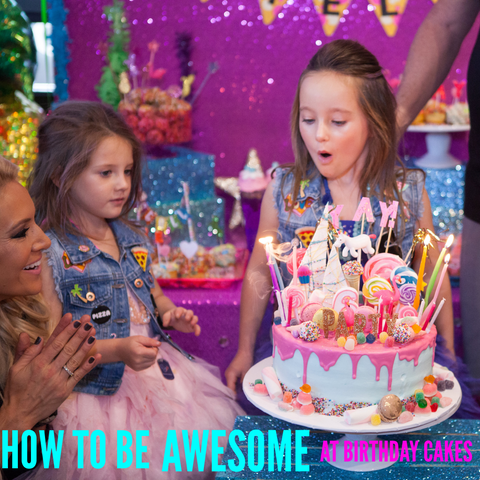 How To Be Awesome At Birthday Smash Cakes