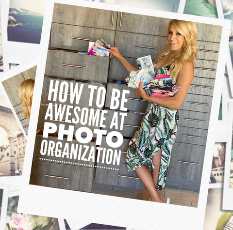 How To Be Awesome At Photo Book Organization
