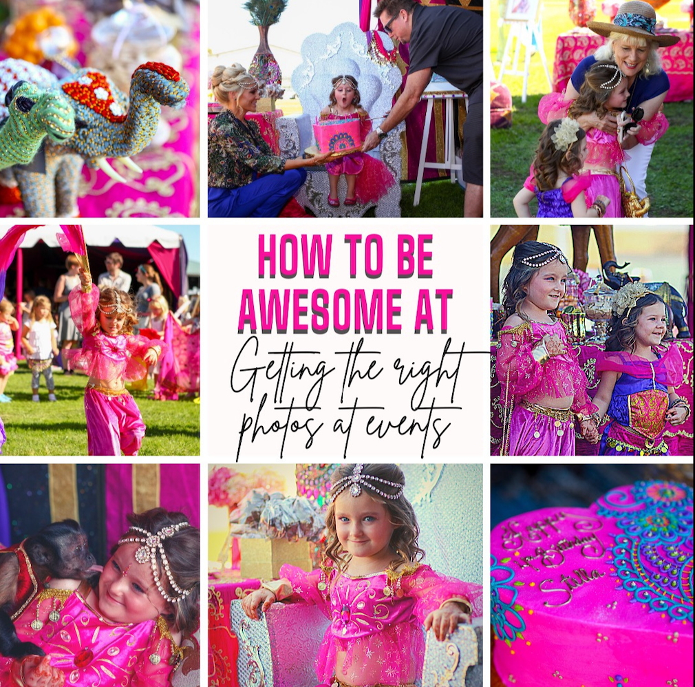 How To Be Awesome At Getting The Right Photos For Your Event
