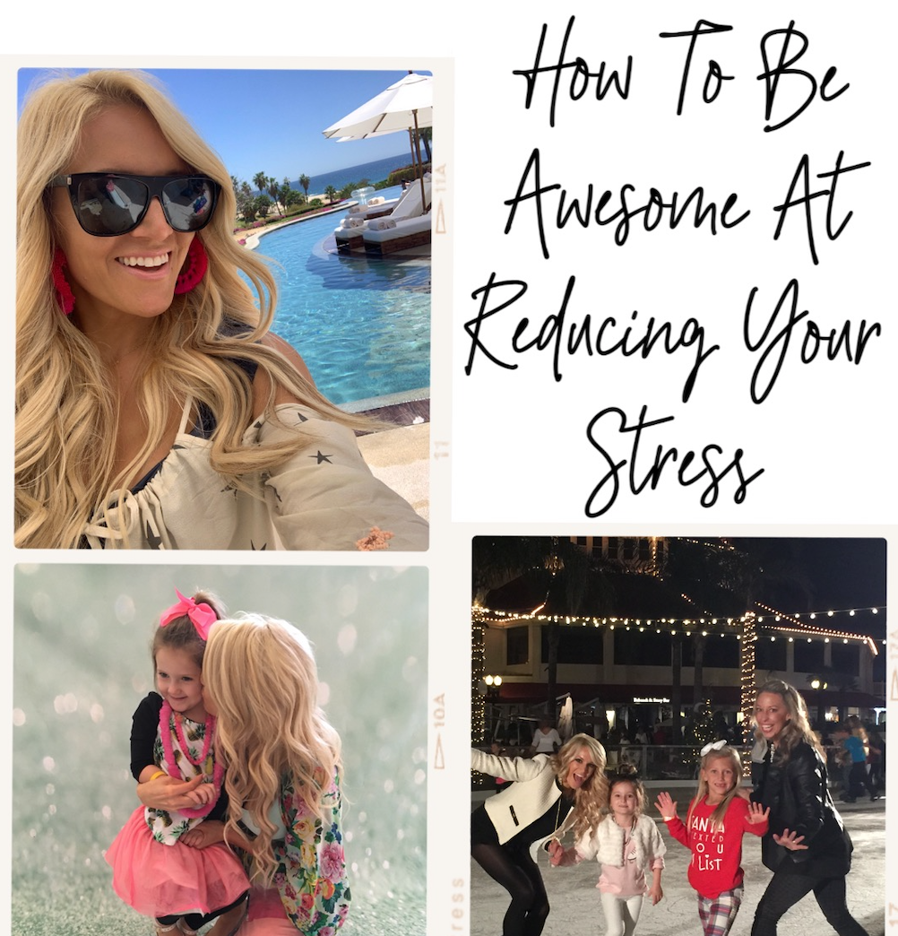 How To Be Awesome At Being Less Stressed