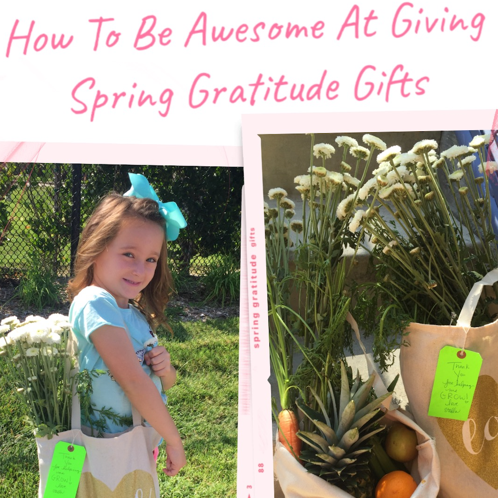 How To Be Awesome At Giving Special Spring Gratitude Gifts