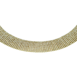 Luxury Crystal choker