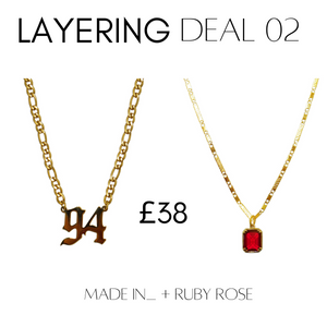 Layering deal #2 Made In__ + Ruby Rose