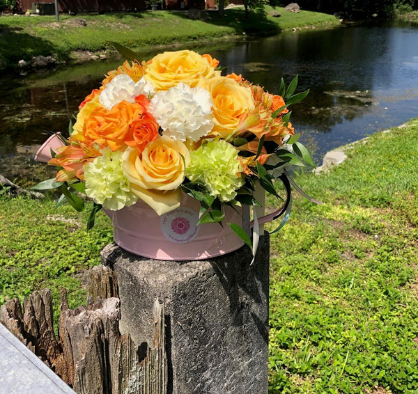 Blush Garden floral arrangement