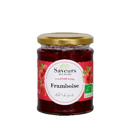 Confitures Extra Framboise 320G