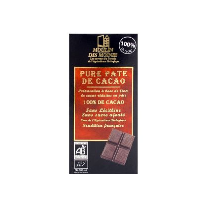 PATE DE FEVES DE CACAO 100G