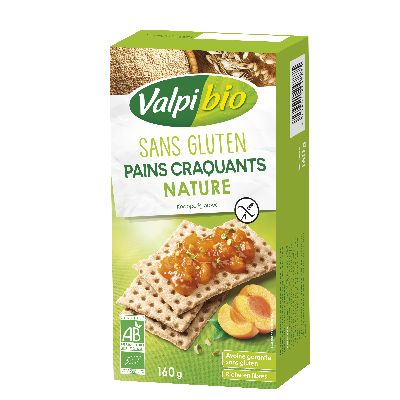 PAINS CRAQUANTS NATURE 160G