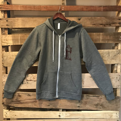 Thirsty Monk Zip-Up Hoodie