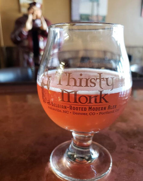 Thirsty Monk Belgian 13 oz. Tulip Glass