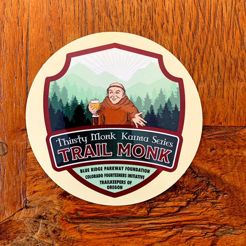 Karma Series Unity Trail Monk Sticker