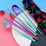 New portable cutlery set