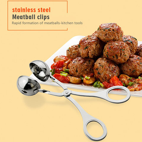 304 Stainless Steel Meatball Maker Fish Ball Ice Cream Ball Pelletizer