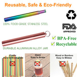Collapsible Straw & Bush With Case