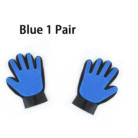 Pet Hair Deshedding Brush Glove