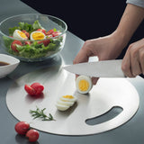 Round 304 stainless steel cutting board
