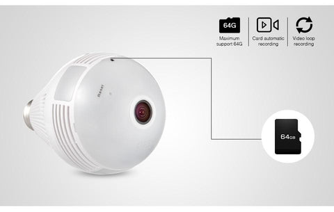 Image of Light Bulb Security Camera