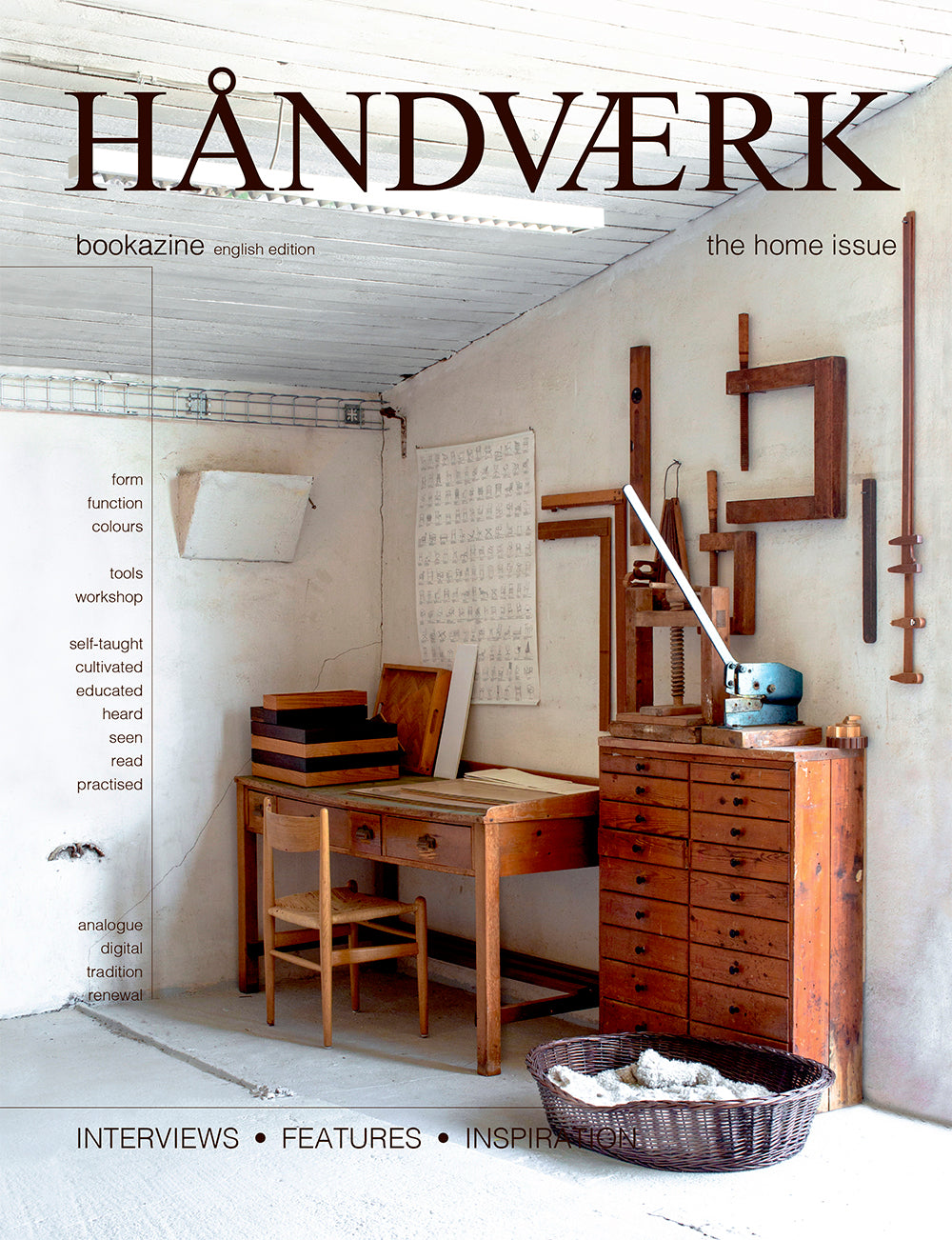 HÅNDVÆRK bookazine no.3 english text
