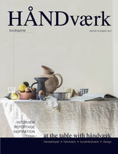 Load image into Gallery viewer, HÅNDVÆRK bookazine no. 1 (Danish & English text)