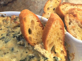 Update a Classic with McEvoy Ranch Artichoke Lemon Bruschetta