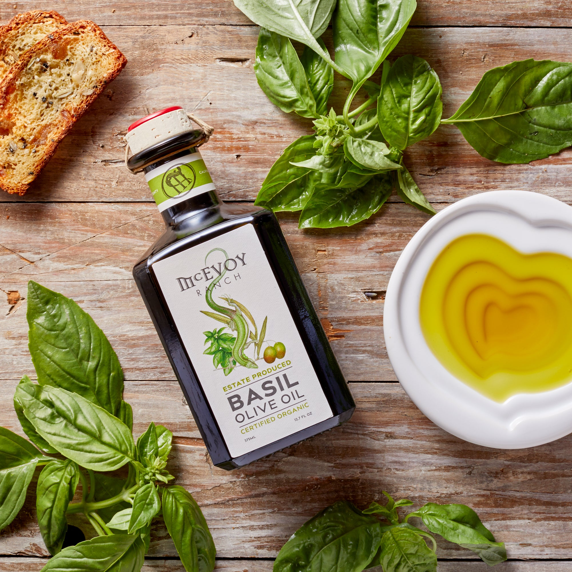 What to Make With Your New Basil Olive Oil