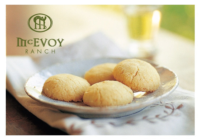 Olio Nuovo & Lemon Cookies Recipe