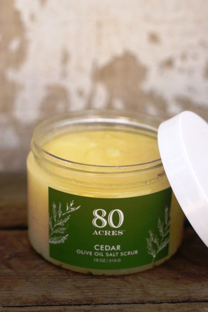 Product Spotlight: Olive Oil Salt Scrub