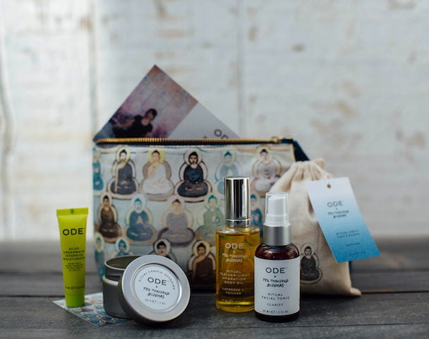 Find your Zen with Ode x 10,000 Buddhas Ritual Wellness Kit for Peace