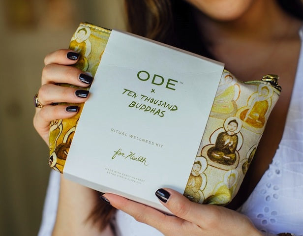 Give Health a Boost with ODE x 10,000 Buddhas Ritual Wellness Kit for Health