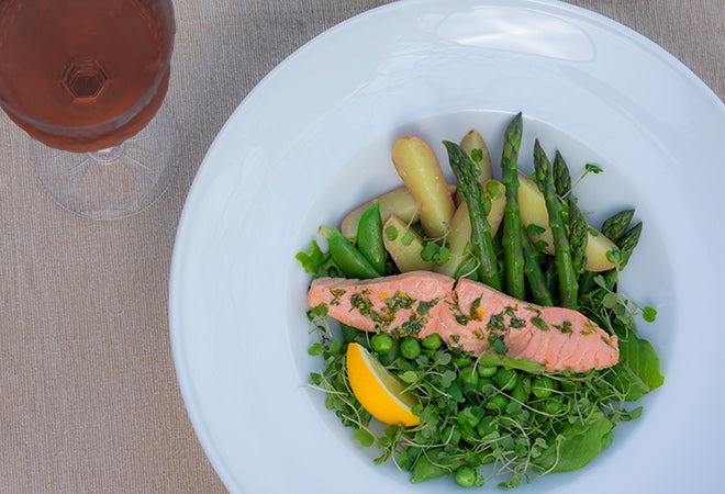 Lemon Olive Oil Poached Salmon Recipe