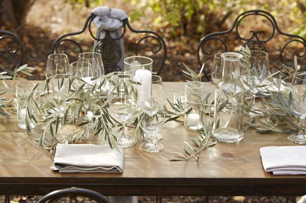 Table Setting at the Ranch
