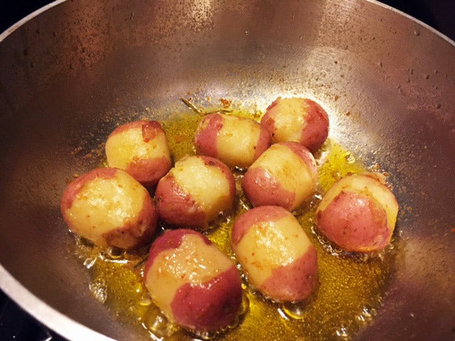Braised Potatoes Cooked