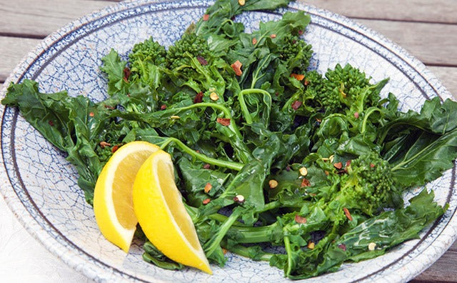Broccoli Raab Plate
