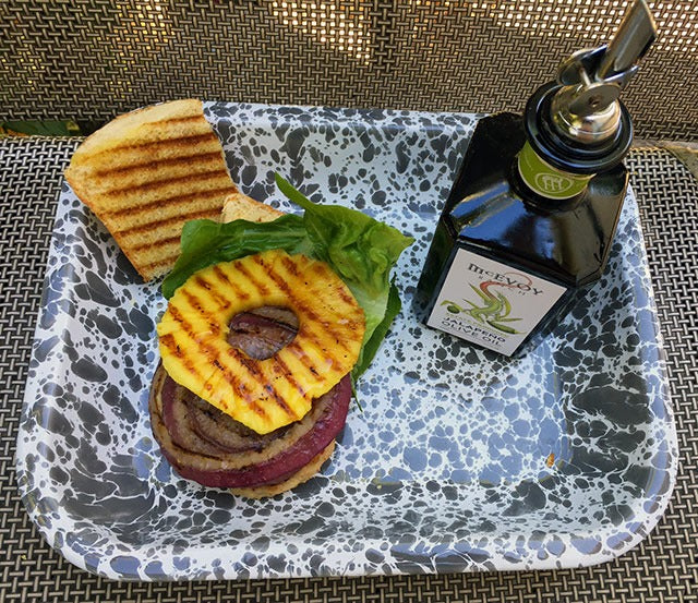 Grilled Pineapple and Jalapeno Olive Oil