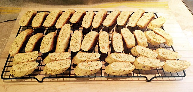 lemon olive oil biscotti