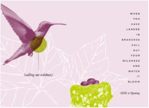 Ode Natural Beauty_Nourish and Bloom artwork