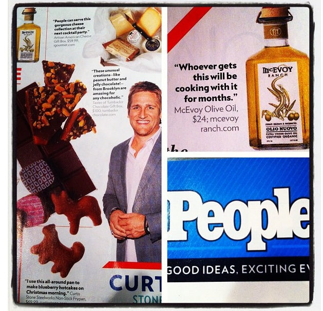 McEvoy Ranch limited edition Olio Nuovo Extra Virgin Olive Oil in People Magazine