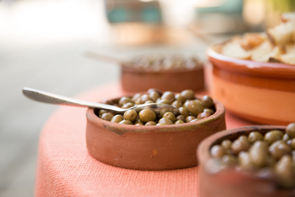 Recipe for salt cured olives