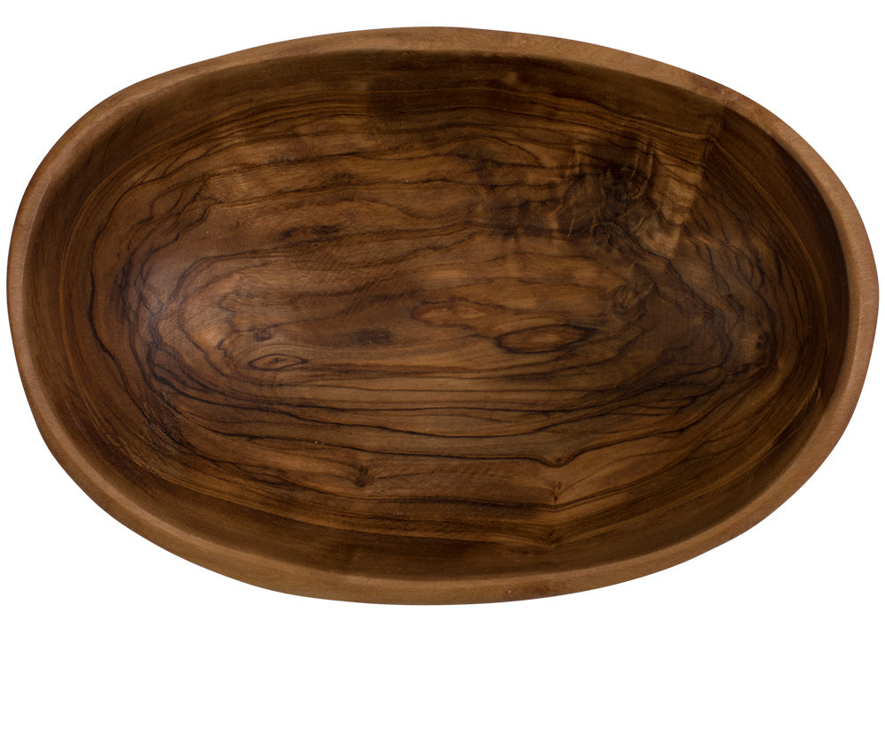 olive wood dip bowl 5 inches