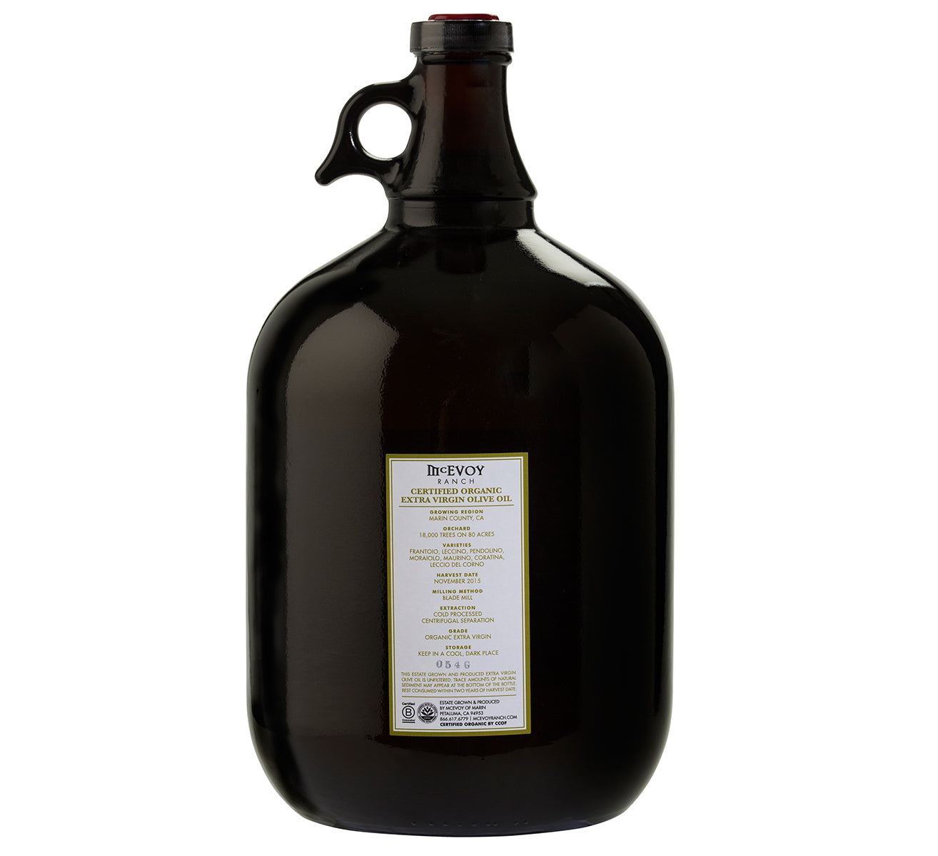 Traditional Blend One Gallon Olive Oil from McEvoy Ranch