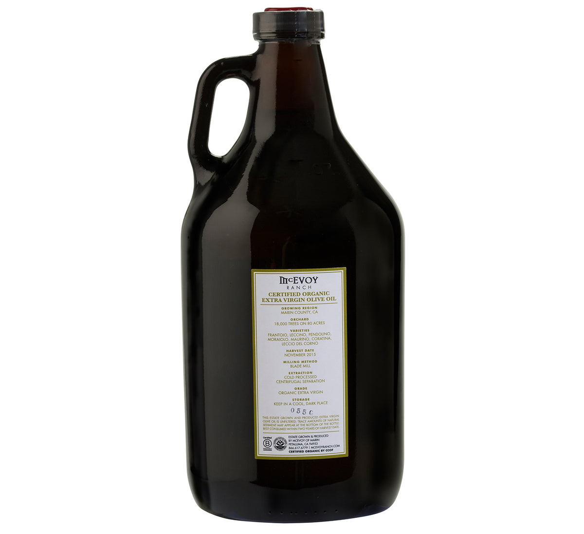 Traditional Blend Extra Virgin Olive Oil - Half Gallon, 2019H