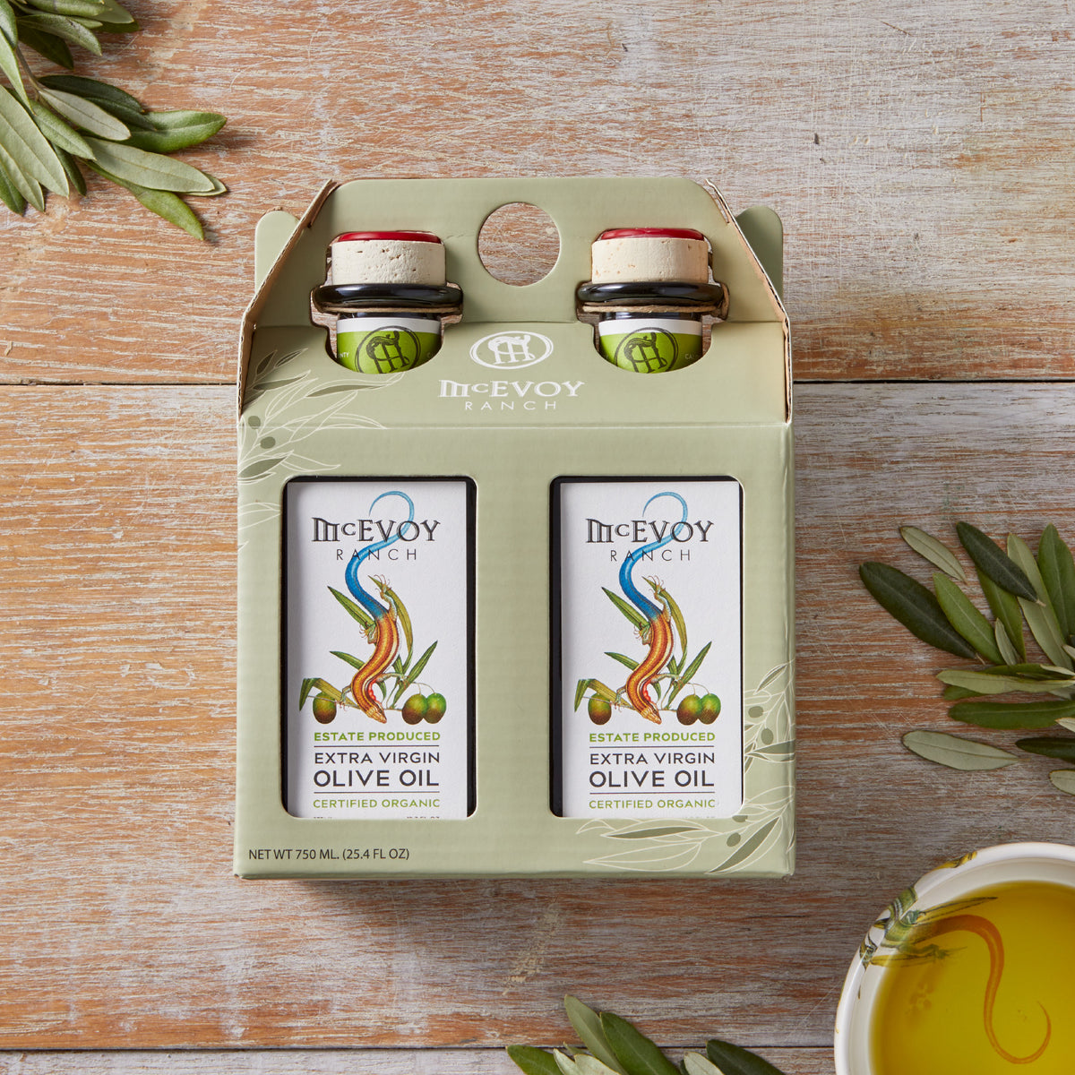 Two Pack Traditional Blend Extra Virgin Olive Oils