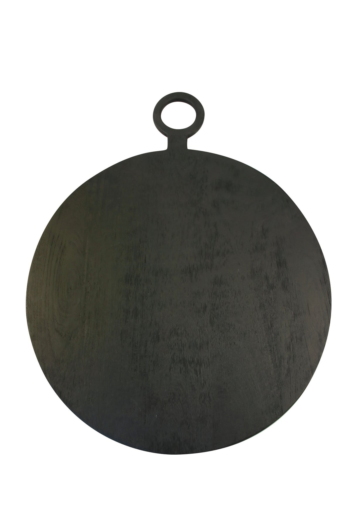 Ebony Mango Wood Round Board, Extra Large
