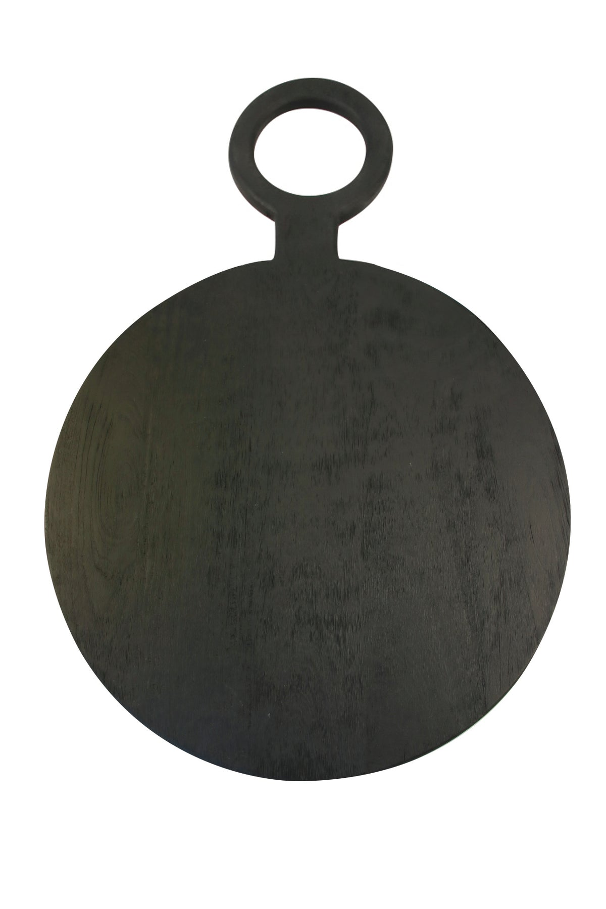 Black Mango Wood Round Board, Large
