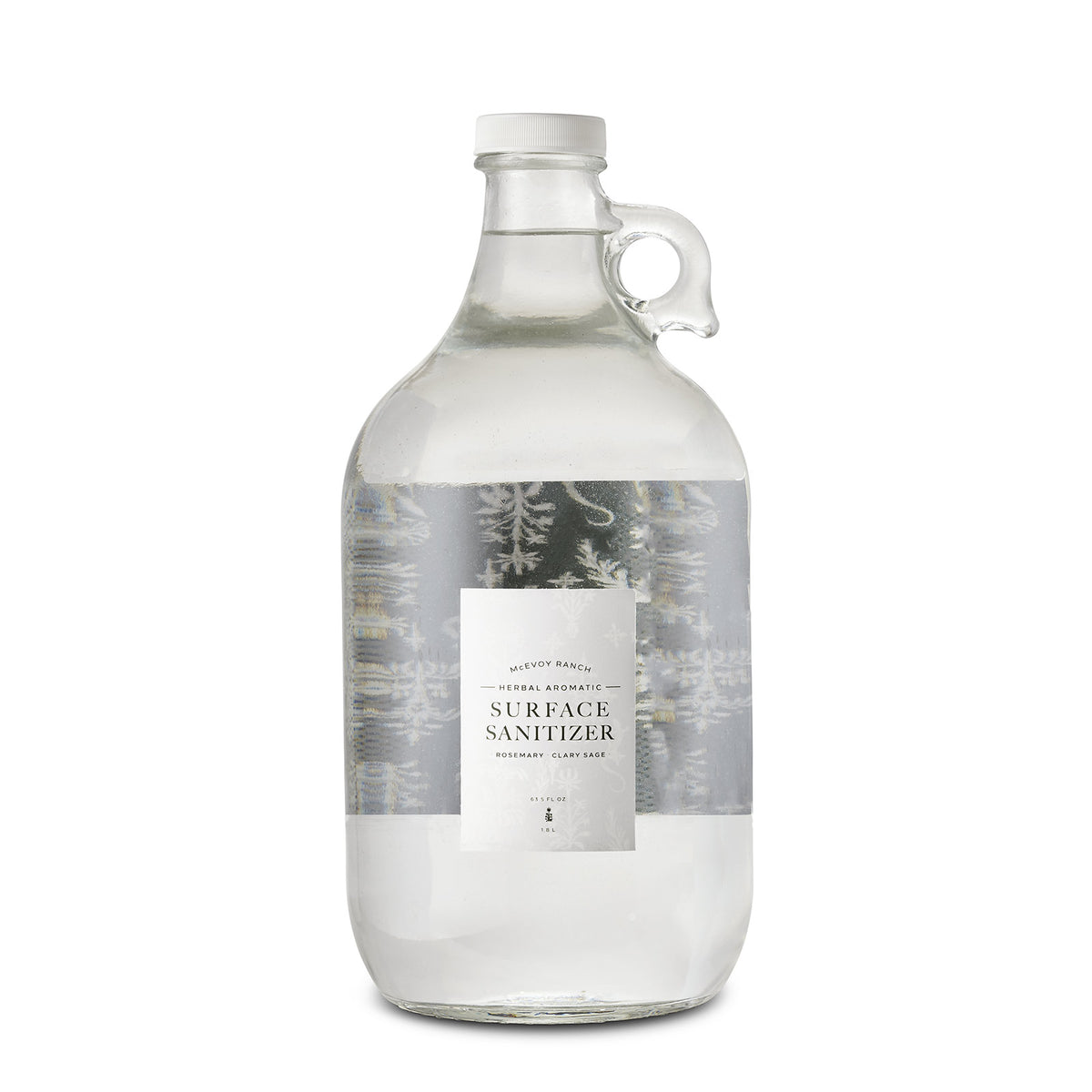 Herbal Kitchen Sanitizer Growler Refill 63.5 FL OZ With Pump