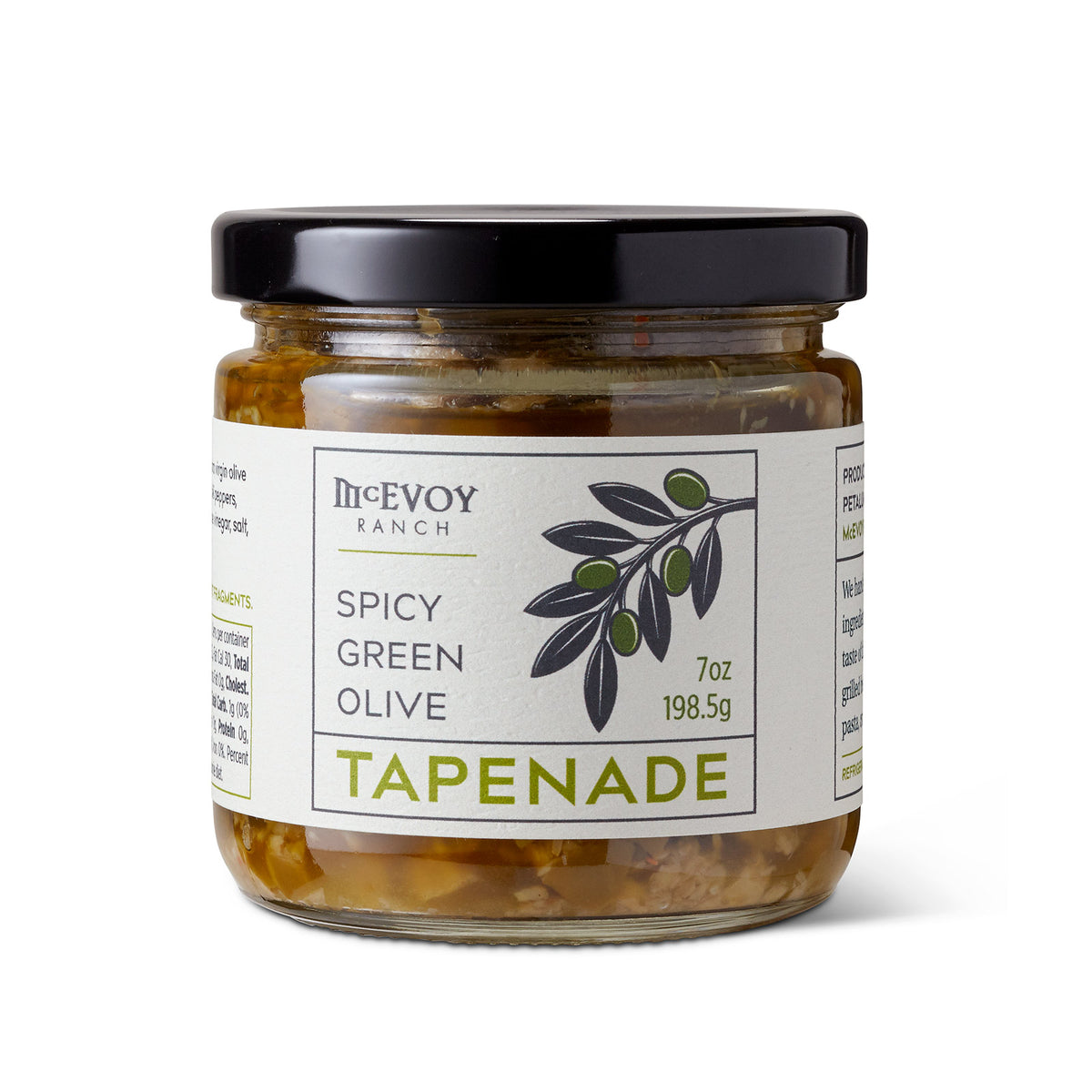 Spicy Green Olive Tapenade, 7oz