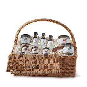 Culinary Deluxe Picnic Basket