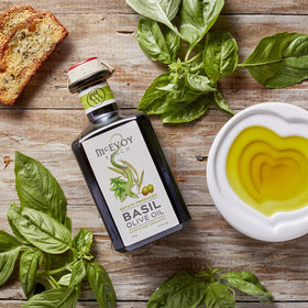 Organic Estate-Produced Basil Olive Oil 2019H 375ML
