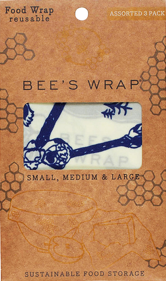 Bees and Bears Wax Wrap - Set of Three
